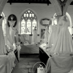 Jubilee Wedding Dress Display Shute Church