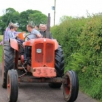 Colyton Vintage Tractor Run at Umborne Hall